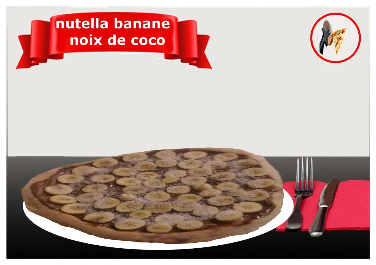 nutella banane noix de coco